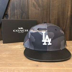 NWT Authentic Coach New Era Camo LA Dodgers Hat